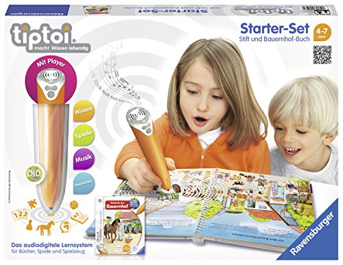 Preisvergleich Produktbild Ravensburger 00507 Lernspiel tiptoi StarterSet mit Stift und Buch
