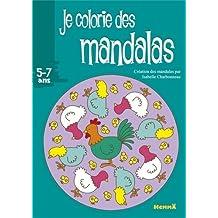 JE COLORIE DES MANDALAS (POULES)
