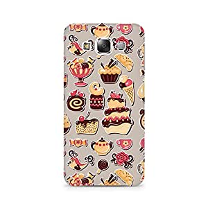 TAZindia Time for Some Ice Cream Premium Printed Case For Samsung Galaxy E5