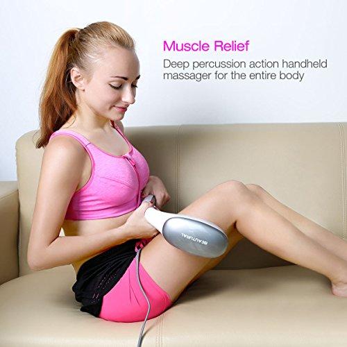 Zoom IMG-2 beautural massaggiatore palmare a percussione