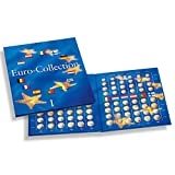 Album Euro Collection Volume 1, con micro-schiuma per la collezione di 12 monete