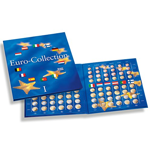 61be1a06e1 Album Euro Collection Volume 1, con micro-schiuma per la collezione di 12  monete