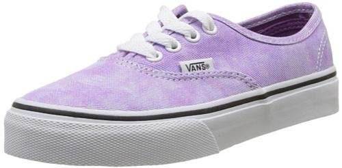 Vans K Authentic Sparkle, Baskets mode mixte enfant Violet