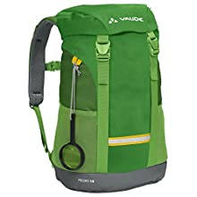 VAUDE Kids' Pecki 14 Backpack, Parrot Green