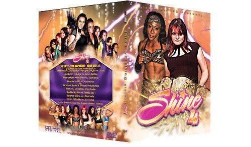 Official Shine Female Wrestling - Volume 4 Event DVD