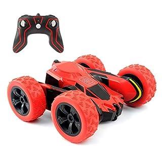 Amicool RC Auto Spielzeug, Tech ferngesteuerte Fahrzeuge Stunt-Auto doppelseitig drehbar Tumbling Ransformation 360 Grad Flips