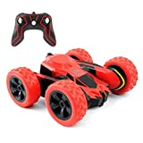 Amicool RC Car Toy, Tech Remote Controlled Vehicles Stunt Car Double Sided Rotating