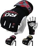 RDX Gel MMA UFC Handschuhe Kampfsport Sandsackhandschuhe Sparring Grappling Trainingshandschuhe L/XL