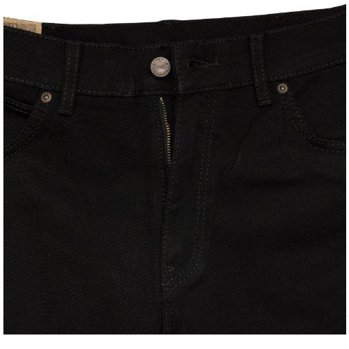 Wrangler Herren Texas Stretch Jeans Tiefschwarz
