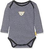 Steiff Baby-Jungen Formender Body, Blau (Black Iris 3032), 80