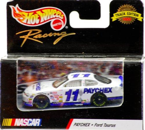 1999-mattel-hot-wheels-racing-track-edition-nascar-brett-bodine-11-paychex-ford-taurus-164-scale-die