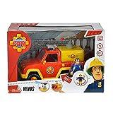 Simba 109257656–Figurine pompier Sam Pompier Voiture Venus avec son original ...