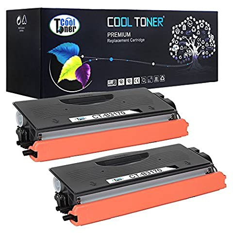 Cool Toner Compatible Toner for TN 3280 TN 3170 TN 7600 TN 3060 for Brother HL-5240 5340D 5350DN 5150D 5130 5250DN, Brother DCP-8025D 8040 8045D 8085DN 8060 8065DN 8080DN 8380DN 8480DN 8890DW 8880DN, (7000 Pages, 2