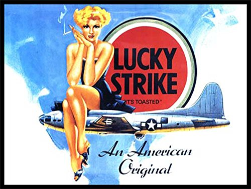 Lucky Strike - It's toasted Blechschilder Nostalgie - Grösse 20x15 cm