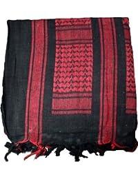 b1e1a513b2258 100% Cotton Shemagh Scarf Arab Keffiyeh Army Military Tactical Sniper Veil  Face Wrap SaS Headscarf
