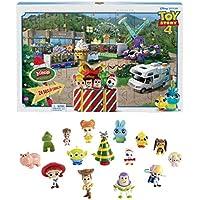 Disney Pixar Toy Story 4 Calendrier de l'avent, 15 mini-figurines et des surprises, pour enfants dès 3 ans, GKT88