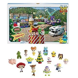 Disney Toy Story – Calendario de Adviento Con Figuras de La Película, Juguetes Niños +3 Años (Mattel GKT88)