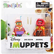 Muppets Minimates Series 2 Dr. Teeth & Animal Diamond Select by Diamond Select