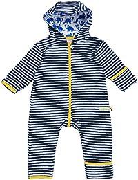 loud + proud Baby Overall Fleece Snowsuit