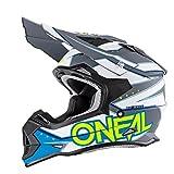 O'neal 2 Series RL Motocross Enduro MTB Helm Slingshot blau/weiß/gelb 2017 Oneal: Größe: L (59-60cm)