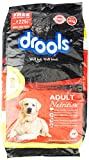 #3: Drools Adult Chicken and Egg Dog Food, 10 kg with Free Biscuit Jar, 1 kg