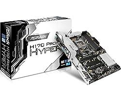 Asrock H170 Pro4 / Hyper - LGA1151 - Sixth Generation MotherBoard(LGA1151, DDR4 Upto 64GB, HDMI/DVI-D, 7.1 Channel Audio)
