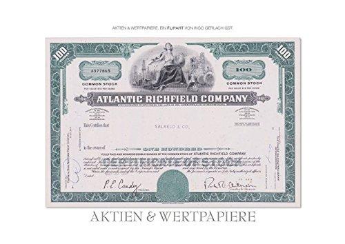 Aktien & Wertpapiere (Posterbuch DIN A3 quer): Wertvolle alte amerikanische Aktien wurden zu einem ansprechenden Flipart gestaltet. (Posterbuch, 14 Seiten) (CALVENDO Wissen)