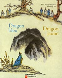 Dragon bleu Dragon jaune
