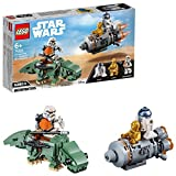 LEGO Star Wars TM Classic Jugutes Miniaturas de Cápsula de Escape vs. Dewback, multicolor (75228)