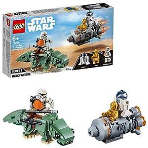LEGO Star Wars TM Classic Jugutes Miniaturas de Cápsula de Escape vs. Dewback, multicolor (75228)