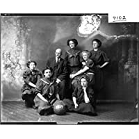POSTER Miami women's basketball team 1909 Wall