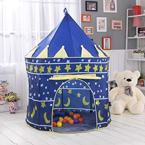 lvl25 LEVEL25 Castillo Tienda Infantil Plegable para niños y niñas, Interior y...
