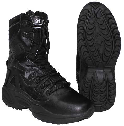 MFH tactical, bottes, rembourré, noir