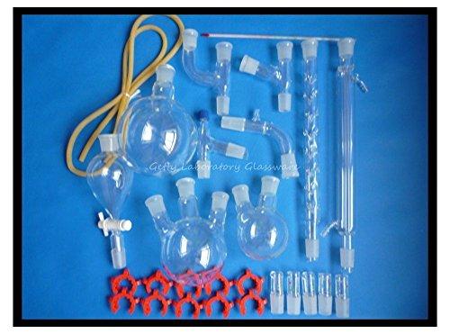 Organische Chemie Labor Glaswaren Kit, lab Glaswaren Kit, lab Glas Kit