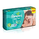 Pampers Baby Dry Large Size Diapers (60 ...