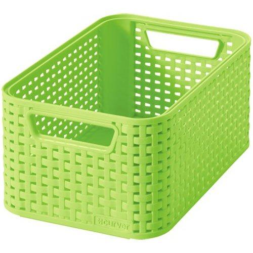 "CURVER Aufbewahrungsbox Style 2\"" 28,5x19,4x13cm in apfelgrün, Plastik, 28.5 x 19.4 x 13 cm"