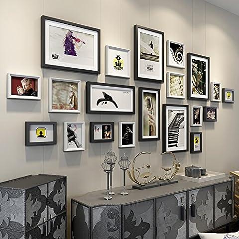 X&L Europea sólida madera living comedor de las foto pared marco pared gran tamaño pared Mediterráneo Oriental foto marco pared creativa combinaciones , 1