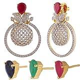 Swasti Jewels American Diamond CZ Zircon...
