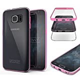 "Urcover Samsung Galaxy S7 ""Touch Case 2.0"" [Upgrade Juni 2017] 360 Grad Rundum-Schutz Full Cover [unbreakable Case bekannt aus Galileo] Crystal Clear Full Body Case Handy-Tasche Schale Handy-Hülle Pink"