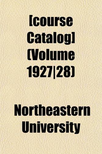[course Catalog] (Volume 1927|28)