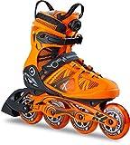 K2 Herren Inline Skates VO2 90 Boa M - Orange-Schwarz - 30B0018.1.1