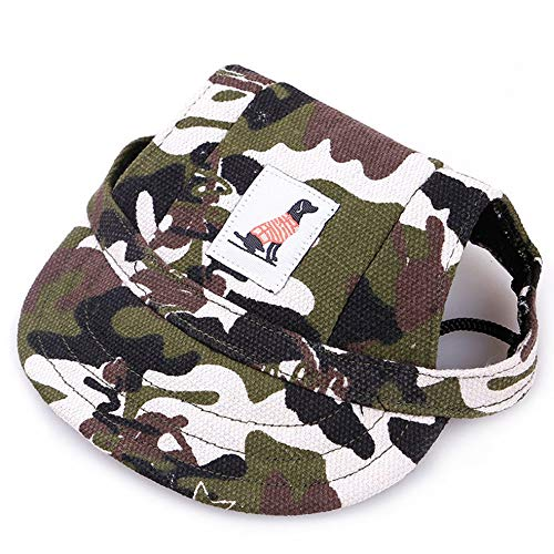 Baseball-oxfords (Baseball Cap Canvas Oxford Puppy Hat Dog Accessories S)
