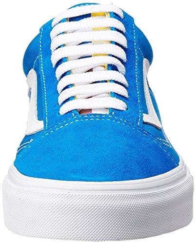 Vans Herren Ua Old Skool Sneakers Blau (1966 Blue/white/red)