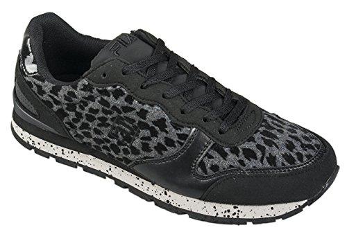 Fila Shoes Quincy, Scarpe da corsa donna, nero (Black), 40