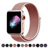 HILIMNY Für Apple Watch Armband 42MM, Ersatz für iwatch Armband Series 3, Series 2, Series 1 (Rose Pink, 42MM)