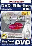 DVD-Etiketten XXL Silberfolie