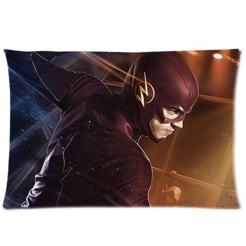 Grant Gustin As Barry Allen The Flash Pillowcase/Kissenbezüge Custom Pillow case/Kissenbezüge Cushion Cover 20 X 30 Inch Two Sides -