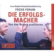 FOCUS-Forum: Die Erfolgsmacher, 6 Audio-CDs