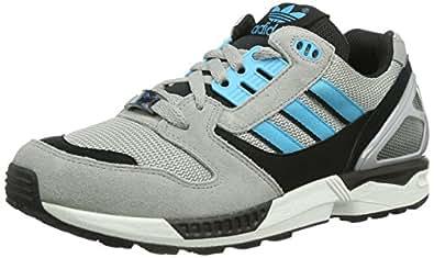 419c0538608f0 Image Unavailable. Image not available for. Colour  adidas Originals Mens  ZX 8000 Trainers D65458 Aluminum Samba Blue White Vapour 6.5 UK