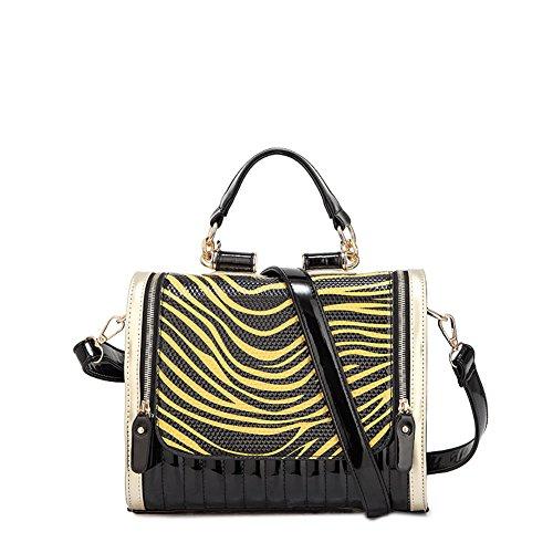 borsa di tendenza estate/Dual Zebra stampa borsa delle signore-D